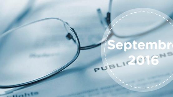 Retrouvez tous les résumés du mois de septembre