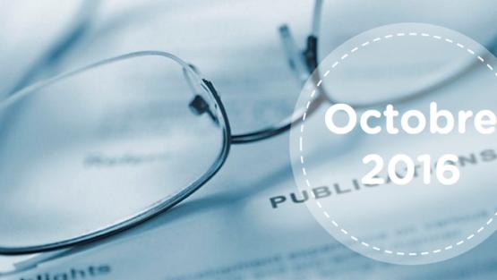 Retrouvez tous les résumés du mois d'octobre