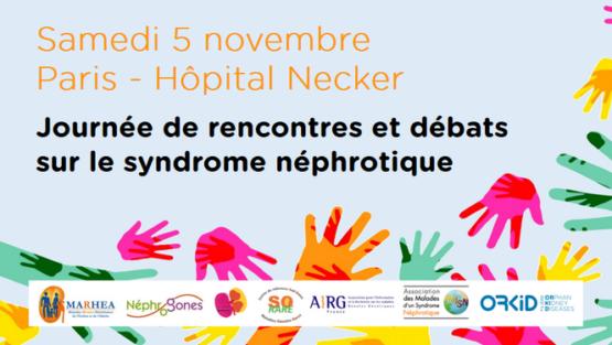 Journée rencontres et débats sur le syndrome néphrotique