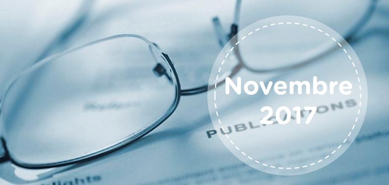 Retrouvez tous les résumés du mois de novembre 2017