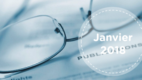 Retrouvez tous les résumés du mois de janvier 2018