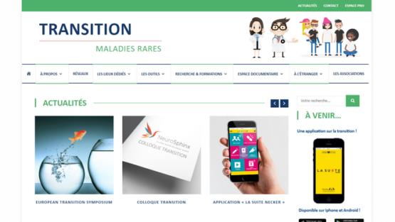Lancement du site internet « transition maladies rares »