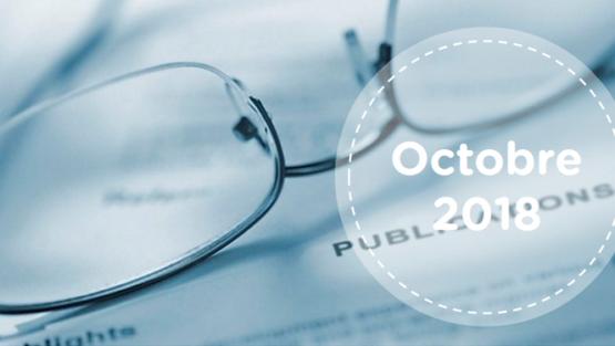 Retrouvez tous les résumés du mois d'octobre 2018