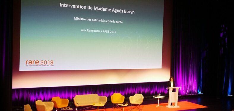 Rare 2019 : Intervention de la Ministre Agnès BUZYN