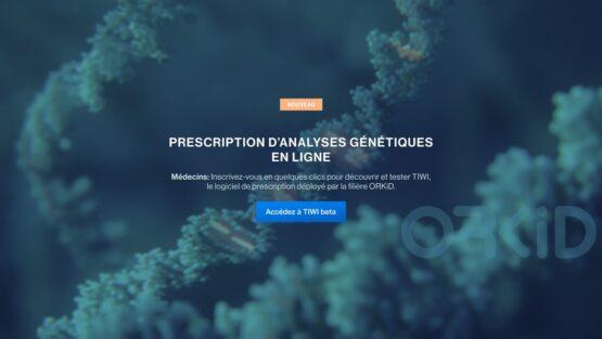 Lancement de TIWI™, plateforme numérique pour l'organisation des demandes d'analyses génétiques pour les maladies rénales rares