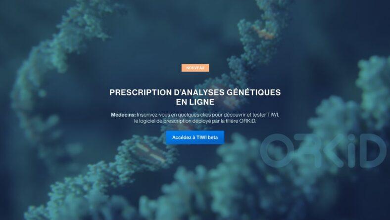 Lancement de TIWI™, plateforme numérique pour l'organisation des demandes d'analyses génétiques